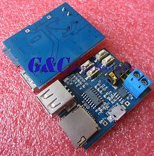 5PCS TF/U disk MP3 decoder board MP3 module MP3 amplifier MP3 Player top new M85