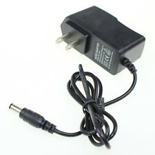 2Pc Ac 100-240V Dc 12V 1A 5.5 x 2.1Mm Us Wall Charger Power Supply Adapter Plug