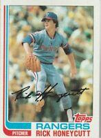 FREE SHIPPING-MINT-1982 Topps #751 Rick Honeycutt Rangers PLUS BONUS CARDS