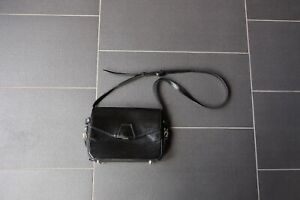 Alexander Wang Tri Fold black shoulder bag with white inner - 100% authentic