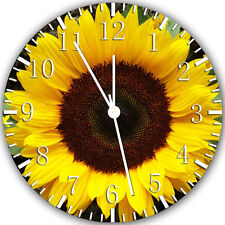"""Sun Flower wall Clock 10"""" will be nice Gift and Room wall Decor X26"""