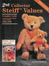 2nd COLLECTOR STEIFF VALUES GUIDE - Modern Steiff Teddy Bears & Animals 1980-90