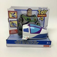 Fisher Price Disney Toy Story 4 Movie Buzz Lightyear 'Pop-up Spaceship Cruiser'