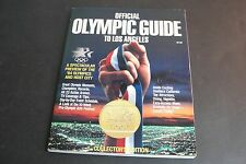 1984 Official Olympic Guide to Los Angeles - Collector's Edition Magazine.
