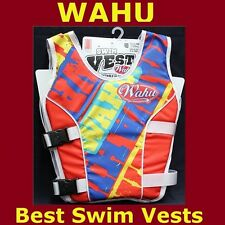 BNIB Wahu swimming aid vest Orange size S,M,L available