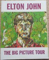 Elton John - The Big Picture Tour 1997 tour programme