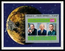 [77422] Yemen Kingdom 1969 Space Travel Weltraum Apollo 11 Imperf. Sheet MNH