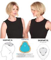 easiPart HD XL 8 In Short Monofilament Heat Friendly Jon Renau Hair Pieces