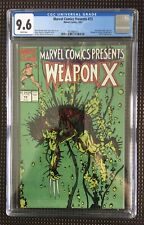 Marvel Comics Presents #73 CGC 9.6 1991 Marvel Weapon X, Shanna, Sub-Mariner App