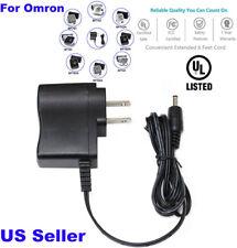 AC DC Power Adapter for Omron HEM-711DLX HEM-712C HEM-712CLC HEM-780 HEM-790IT