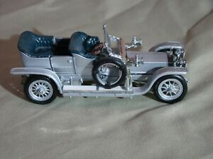 Franklin Mint Classic 1907  Rolls-Royce Silver Ghost 1:43 Scale  MINT