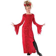 RED DEVIL GIRLS HALLOWEEN COSTUME NEW S Small 4-6