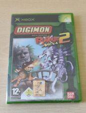 DIGIMON RUMBLE ARENA 2 XBOX NUOVO NEW PAL EU  ITALIANO  RARO SIGILLATO