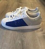 Adidas Superstar Shell Toe Mens 11.5 Blue Gray White G47578