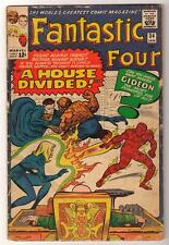 Marvel Comics VG 4.0 FANTASTIC FOUR #34 1965