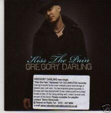 (708U) Gregory Darling, Kiss The Pain - DJ CD