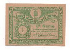 PORTUGAL NOTGELD EMERGENCY MONEY CEZIMBRA SESIMBRA 1 CENTAVOS 1921