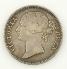 1840 VICTORIA INDIA RUPEE SILVER HIGH GRADE COIN XF INDIAN FOREIGN COIN