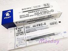 12 x Pilot Hi-Tec-C Roller Ball Pen Refills BLS-HC5 0.5mm Extra Fine, BLACK