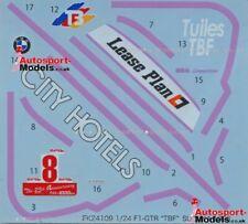 "1/24 1996 McLaren F1-GTr ""Tuiles TBF"" #8 Suzuka decal set by Studio 27"