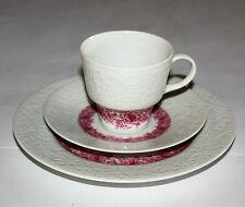 Hutschenreuther Petra Relief Kaffeegedeck 3-teilig, 70-er Jahre