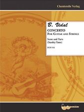 B. Vidal - Concerto for Guitar & Strings Score-Parts [Unknown Binding] Mb-Ech561