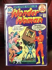 Wonderwoman #213 Featuring Early Justice League Appearance 1974