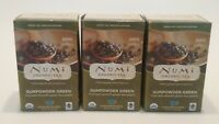 Numi Organic Tea GUNPOWDER GREEN 3 Boxes 54 Tea Bags 1.27 oz Organic Green Tea