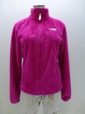 THE NORTH FACE pink deep pile fleece zip up liner Jacket coat womens XS X-Small