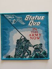 Status Quo In The Army Patch woven Patch