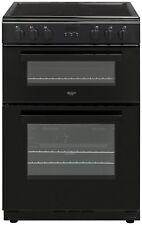 Bush BDBL60ELB 60cm Double Oven Electric Cooker - Black