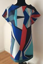 Robe Droite Multicolore, Cop Copine, Modèle Miar, Taille 36, Très Bon Etat