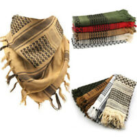 Fashion Lightweight Military Arab Tactical Desert Shemagh KeffIyeh Scarf Wrap