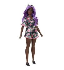 Barbie Fashionistas #125 Curvy African American w/Beautiful Purple Hair