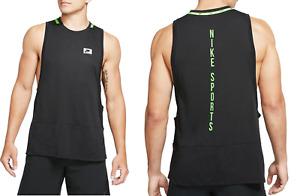 New Nike BREATHE Men's Vest size M /Tank /black/ sleeveless top/ tank/ Dri-Fit