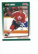 ERIC LINDROS 1991-92 Score Traded Hockey card #88T Philadelphia Flyers NR MT