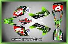 Honda CRF150R 150R 07-15  SEMI CUSTOM GRAPHICS KIT BEAST