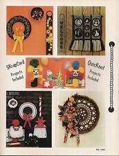 Christmas, Birthday & Home Decor Patterns - Craft Book:#Pd1151 Macrame Scrapbook