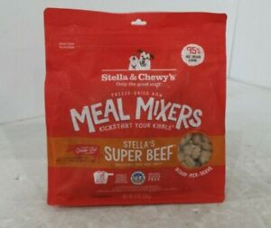 Stella  Chewy's Freeze-Dried Raw Stella's Super Beef Meal Mixers.