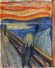 The Scream by Edvard Munch, in various sizes, Giclee Canvas Print