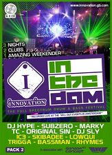Innovation In The Dam 2013 - PACK 2 - 6xCD RAVE Pack Drum & Bass *SALE PRICE*