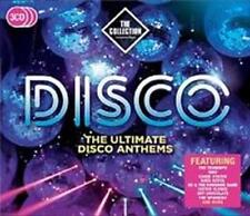 DISCO THE COLLECTION The Ultimate Disco Anthems NEW & SEALED 3X CD SET (RHINO)