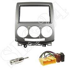 Mazda 5 (2006-2011) 2-DIN Radioblende + ISO Radio Adapter + Antennen Stecker