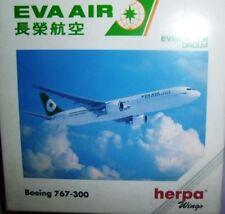 BOEING 767-300 EVA AIR scala 1/500 HERPA (502887)