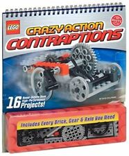 New Lego Crazy Action Contraptions Kit By Klutz Toy