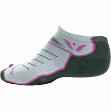 555192eb57e0e Swiftwick Vibe Zero NO SHOW USA Trail Socks - Women's - Pink Accent Medium  NEW