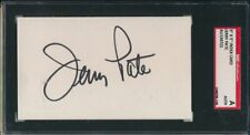 Jerry Pate 1976 U.S. Open Champion Signed 3x5 Index Card SGC 143693