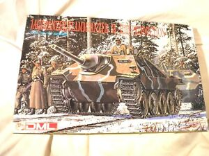 1/35 Dragon German Jagdpanzer Flammpanzer Hetzer 38t Build 1 of 2 Ways # 6037