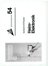 Heim-Elektronik, Topp Buchreihe Elektronik Band 54