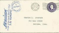 Maritime Mail Cover Posted On Board SS Europa To New York 13 April 1938 U690